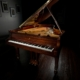 "EXTREMELY RARE Hamburg Steinway B 6'10"" Grand Piano in Sapele Bookmatch Mahogany"
